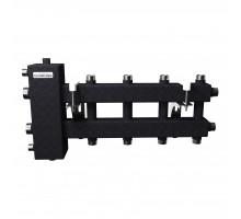 BM-100-5DU (до 100 кВт, подкл. котла G 1¼″, 2+2+1 контура G 1″, цвет ″черный муар металлик″)